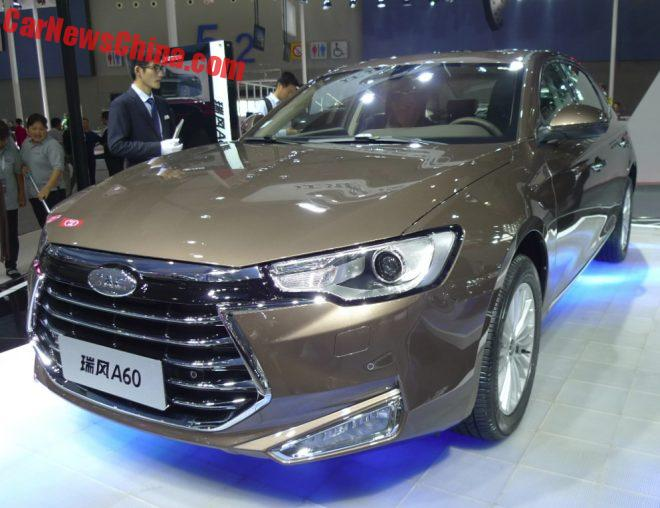 JAC Refine A60 Is Finally Ready For China