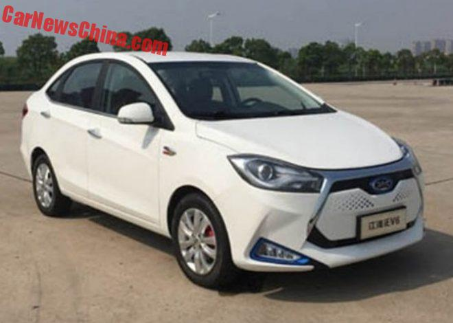 JAC iEV6 Is Ready For The Chinese Car Market