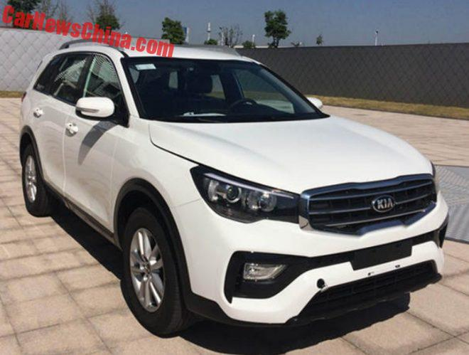 This Is The New Kia KX7 SUV For China