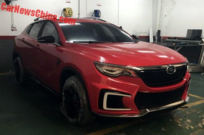 Spy Shots: The Landwind E33 SUV Is Ready For The Guangzhou Auto Show
