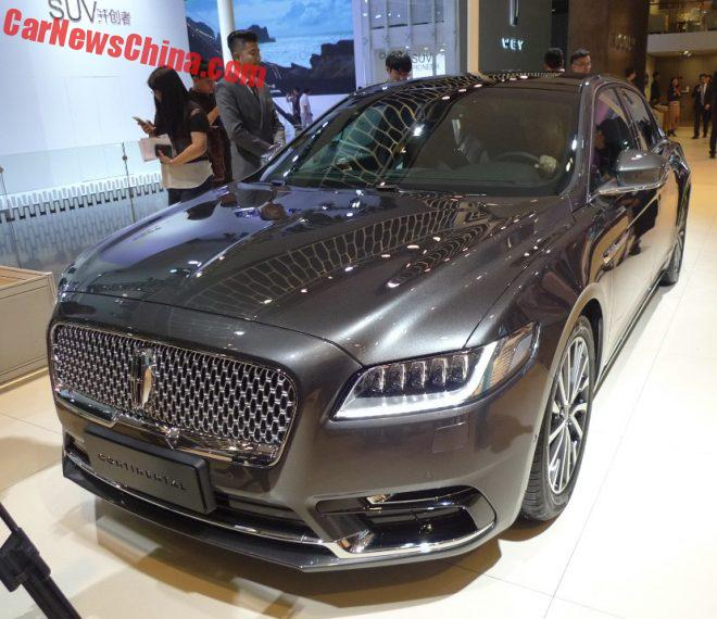 Lincoln Continental Launched On The Chinese Car Market