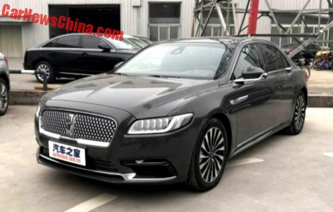 Lincoln Continental Will Launch On The Chinese Car Market On November 28