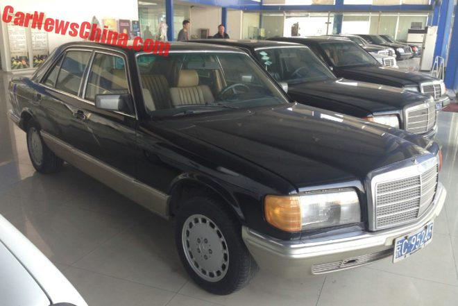 A Beautiful Mercedes-Benz Collection In China