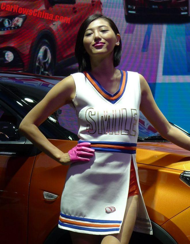 The Sweet Little Pretty Ladies Of The Guangzhou Auto Show In China