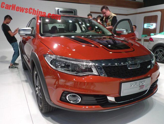 Qoros 3 GT Launched On The Guangzhou Auto Show In China