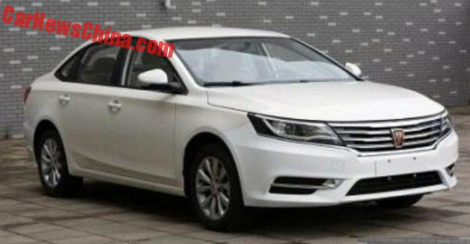 This Is The New Roewe 550L For China
