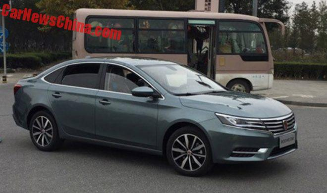 First Photos Of The New Roewe i6 For China