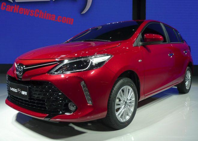 Toyota Vios FS Debuts At The Guangzhou Auto Show In China