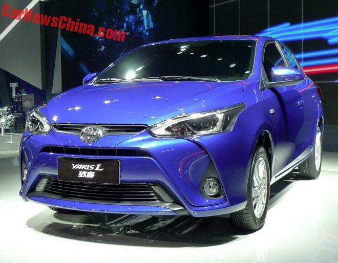 Toyota Yaris L Launched At The Guangzhou Auto Show In China