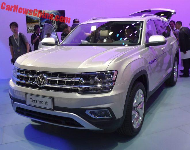 Volkswagen Teramont SUV Hits The Guangzhou Auto Show In China