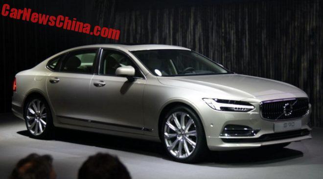 Volvo S90 Long-Wheelbase Debuts In China