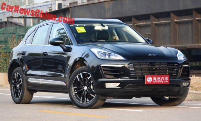 Zotye SR9 Porsche Macan Clone Launched On The Chinese Car Market