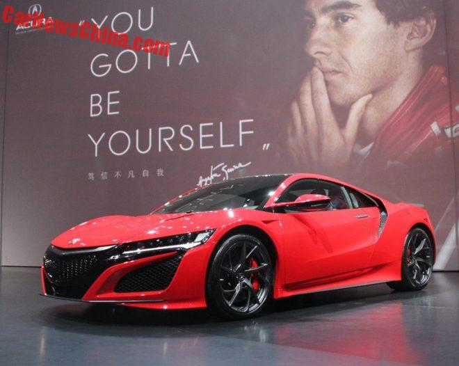 Acura NSX Launched On The Chinese Car Market