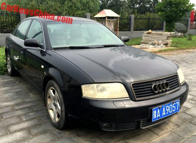 Spotted In China: C5 Audi A6 Executive