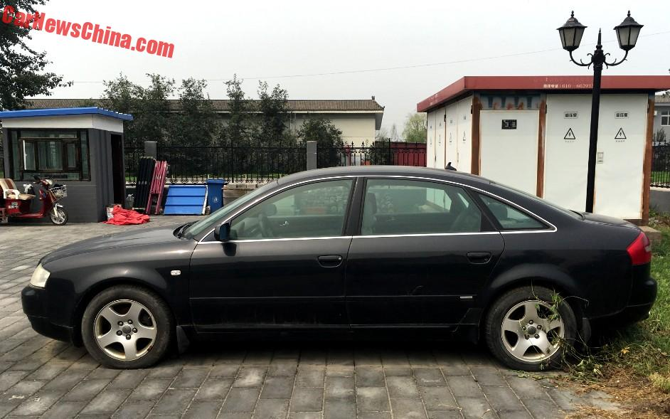 Spotted In China: C5 Audi A6 Executive - CarNewsChina.com on land rover china, mercedes c class china, audi a3 china, jeep cherokee china,