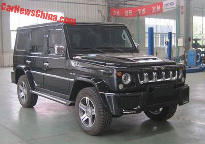 Spy Shots: Beijing Auto BJ80 Is Going Luxurious In China