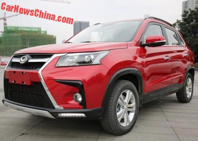 This Is The New Beijing Auto Huansu S5 SUV For China