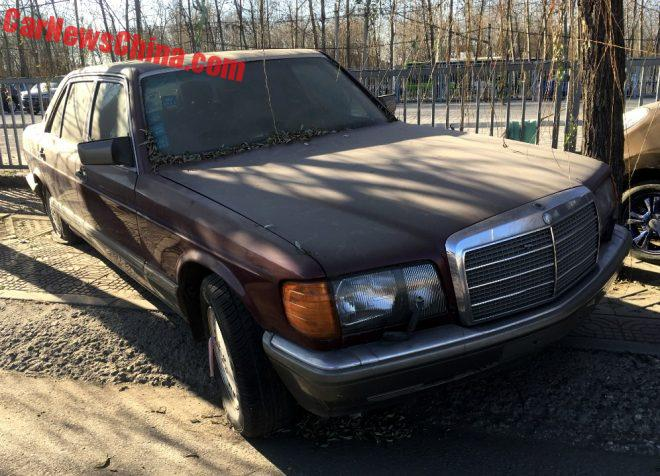Spotted In China: W126 Mercedes-Benz 560SEL Times Three