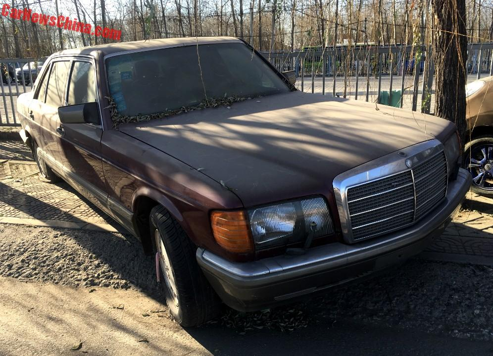Spotted in china w126 mercedes benz 560sel times three for Mercedes benz china