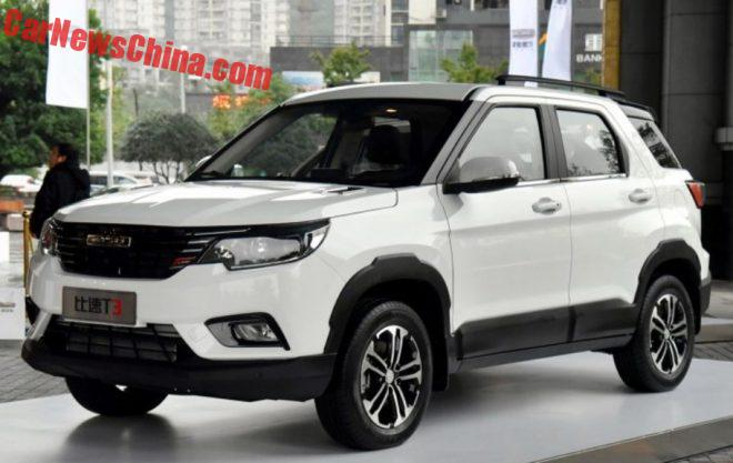 Bisu T3 SUV Launched On The Chinese Car Market