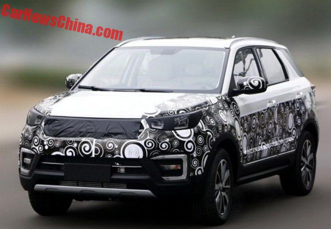 Spy Shots: Changan CS55 SUV Testing In China