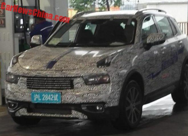 New Spy Shots Of The Lynk & Co 01 SUV Testing In China