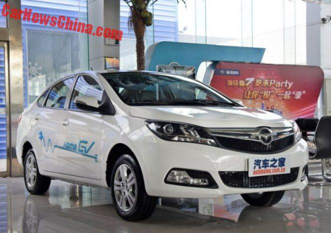 Haima @3 EV Launched On The Chinese Car Market