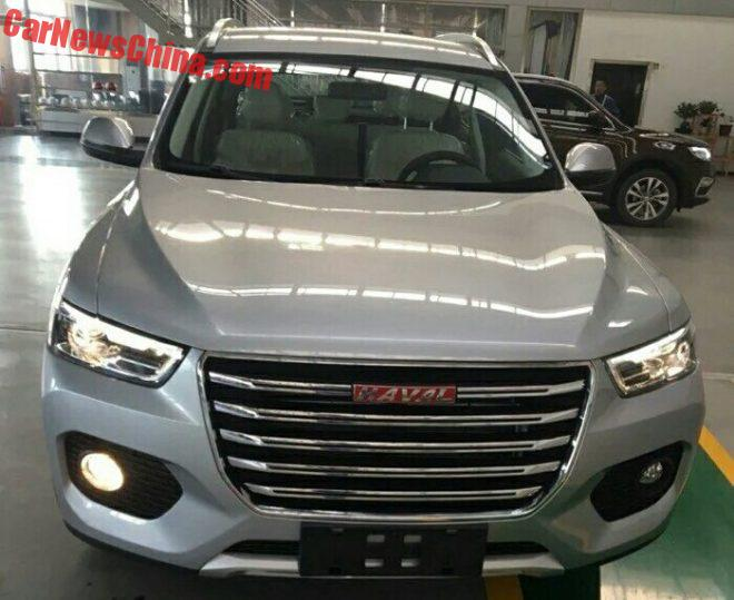Spy Shots: Haval F6 SUV Is Almost Ready For The Chinese Auto Market