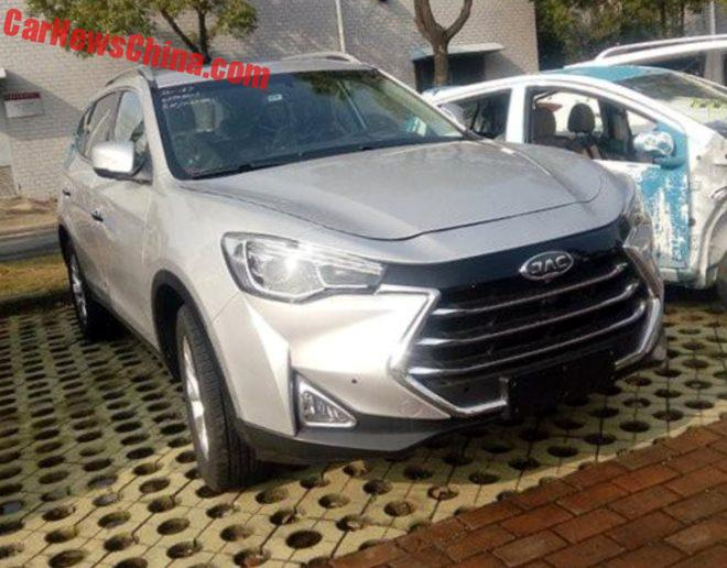 Spy Shots: JAC Refine S7 SUV Is Naked In China