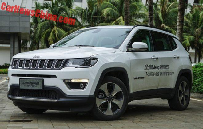 New Jeep Compass Launched On The Chinese Car Market