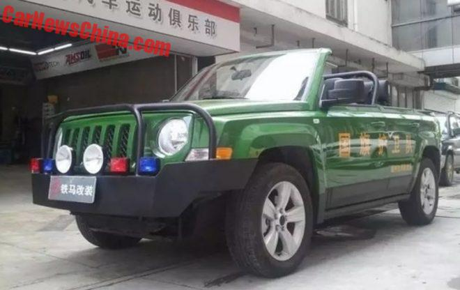 New Photos Of The Jeep Patriot Parade Car Project In China