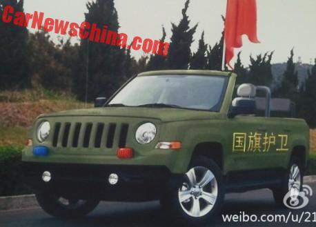 new photos of the jeep patriot parade car project in china rh carnewschina com