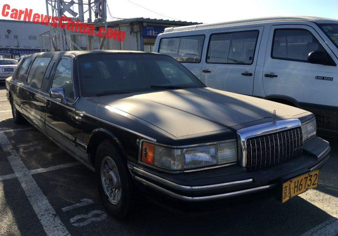 Spotted In China: Lincoln Town Car St. Tropez Stretched Limousine