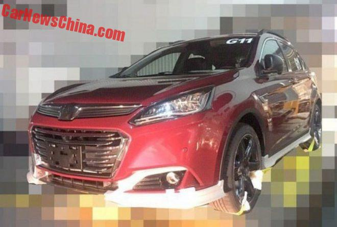 Spy Shots: Facelift And PSA Engines For The Luxgen U6 In China