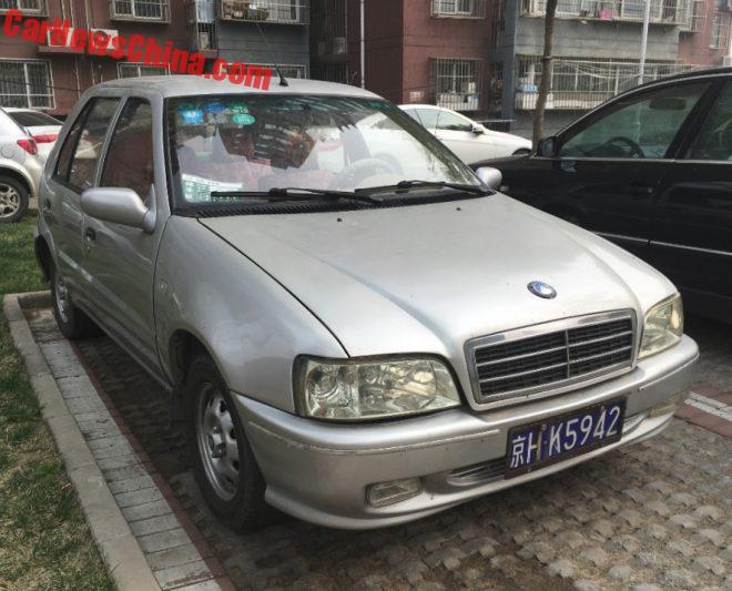 Spotted In China: The Geely Liangjing JL63601E