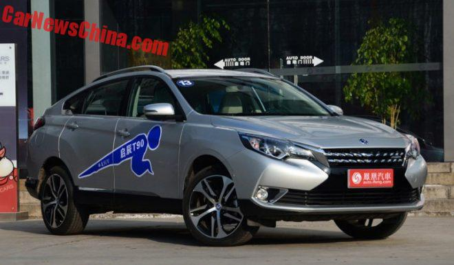 Venucia T90 Launched On The Chinese Car Market