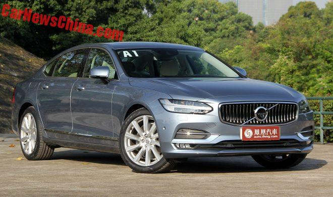 Volvo S90 L Launched On The Chinese Auto Market