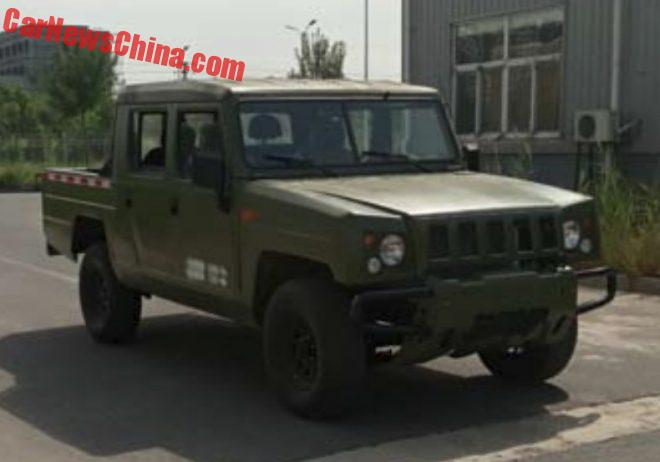 Beijing Auto BJ2022 Goes Pickup Truck In China
