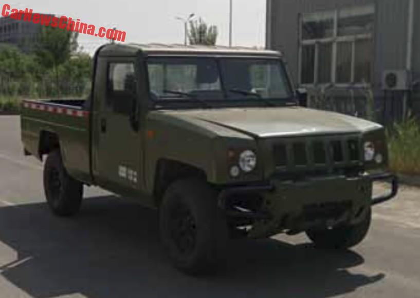 beijing auto bj2022 goes pickup truck in china carnewschina com rh carnewschina com