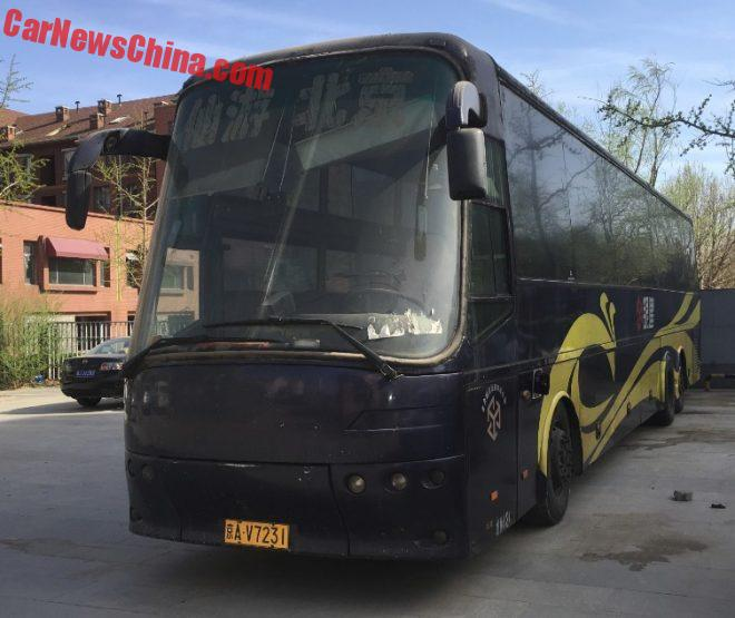 Spotted In China: Zhongtong-Bova Futura LCK6130 Bus
