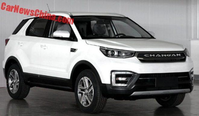 This Is The New Changan CS55 SUV For China