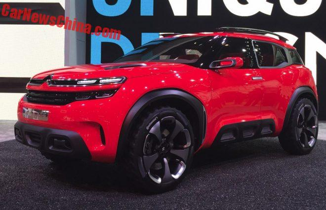 Citroen Aircross SUV To Challenge The Volkswagen Tiguan In China