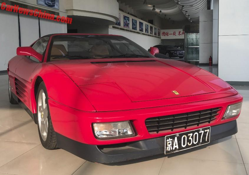 Spotted In China Ferrari 348ts In Red Carnewschina Com