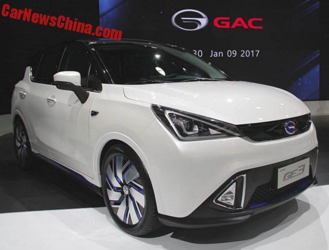 Guangzhou Auto GE3 EV Unveiled On The Detroit Auto Show