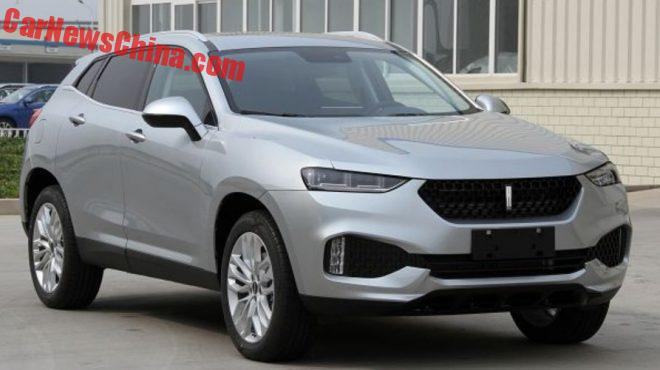 This Is The Great Wall WEY 01 SUV For China