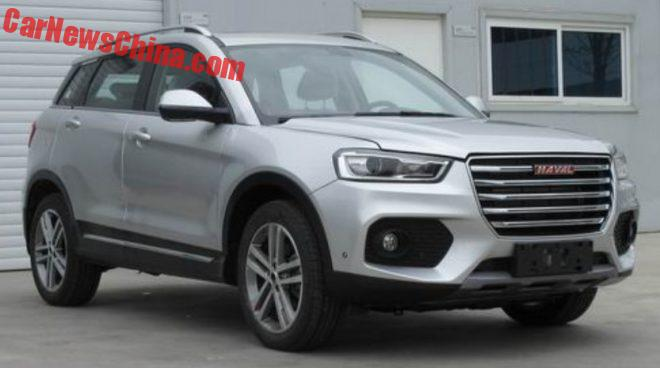 This Is The Haval H6 Coupe Red Label SUV For China
