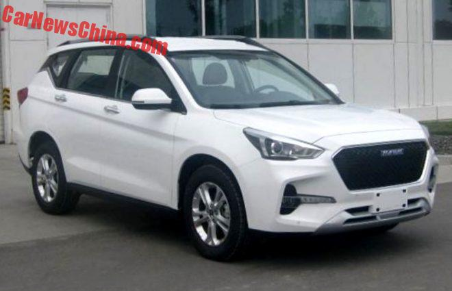 More On The Other Haval H6 SUV For China