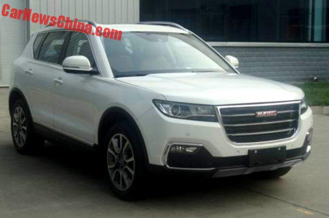 These Are The Haval H7 & H7L Red Label SUVs For China