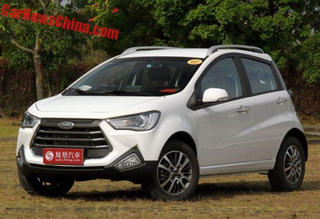 JAC S2 Mini Hits The Chinese Auto Market