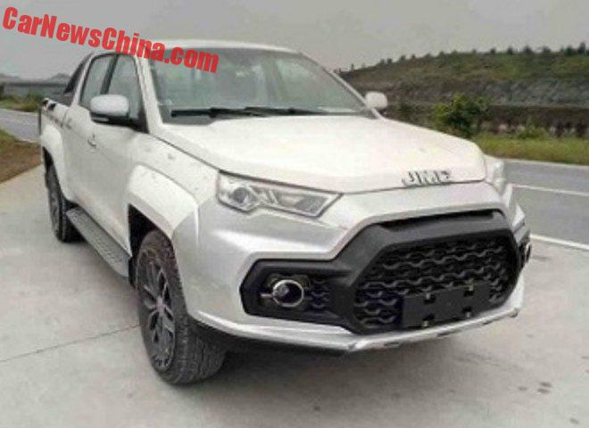 JMC Yuhu Pickup Truck Is Getting The Stormtrooper Treatment In China